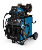 Pipe Welding System offers 1-button process changeover.