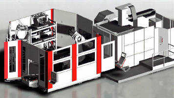 Multi-Axis Manufacturing System handles 1-ton workpieces.