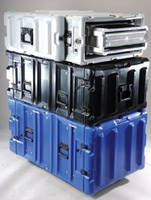 Protective Cases secure rack-mount electronics for transport.