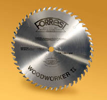 Saw Blade offers optimized cross-cutting capability.