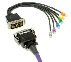 Network Cabling features multichannel CAT5e-rated design.