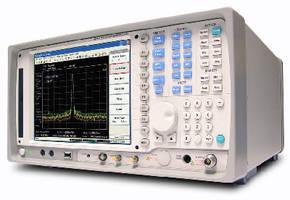 Spectrum Analyzers feature 30 MHz digital demodulator.