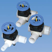 Three-Way Diaphragm Valves have corrosion-resistant design.