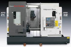 Multitasking Turn/Mill System has two 24-tool ATC magazines.