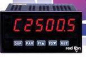 Dual Rate Meter concurrently monitors 2 signal inputs.