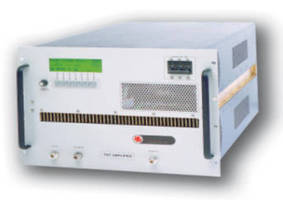 Power Amplifiers target EMC testing applications.