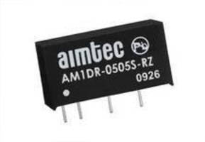 DC/DC Converters feature I/O isolation of 1,000 Vdc.