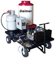 Mobile Steam Pressure Washers offer automatic shut-off.