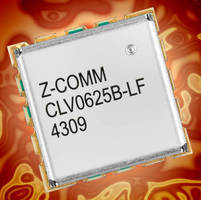 UHF-Band VCO features ultra low phase noise.