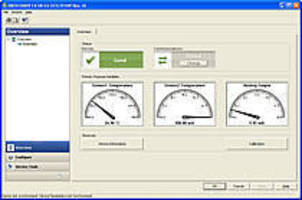 Graphical Interface Software provides device management.