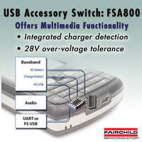 USB Accessory Switch offers key multimedia functionality.