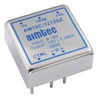 DC/DC Converters come in compact 1 x 1 in. package.