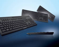 Ultra-Flat Keyboard features spill-resistant design.
