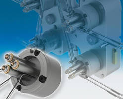 Compact Shot Nozzles are combined in modular design.
