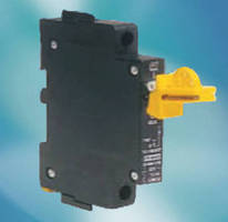 Circuit Breakers offer lockout/tagout accessory.