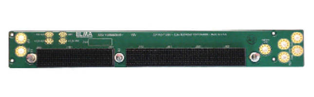 New 1-slot VPX Power and Ground Backplane from Bustronic