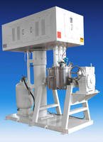 Industrial Mixer features manual tilting system.