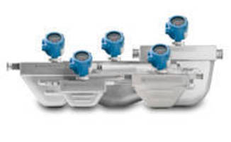 Coriolis Meters feature transmitters for optimal performance.