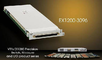 Signal Multiplexer switches up to 576 channels.