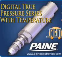 Digital Transducer measures pressure and temperature.