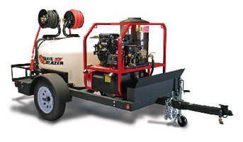 Pressure Washer Trailer System is customized to user needs.