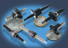 Lead Screw Assemblies engineered for miniature applications.
