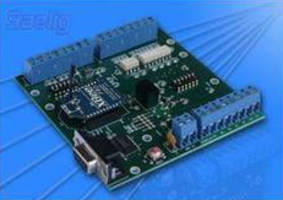 Wireless Communication Boards handle analog/digital/serial data.