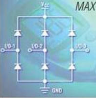 Diode Array protects high-speed data interfaces from ESD.