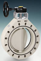 Double Eccentric Butterfly Valve comes in 14-16 in. sizes.
