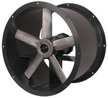 Direct Drive Tubeaxial Fans offer capacity up to 61,000 cfm.