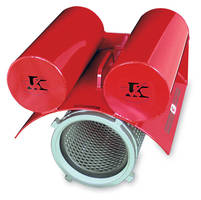 Floating Strainer features self-leveling system.