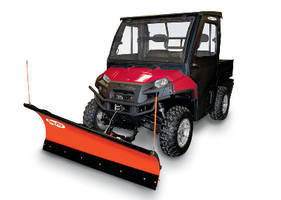 Utility Vehicle offers open-air convertible system.