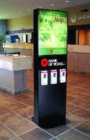 Floor Stand Displays come in illuminated or non-lit styles.