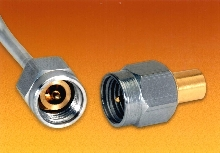 Coaxial Connectors feature DC to 40 GHz performance.