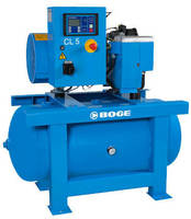 Screw Compressors are available in 10 and 20 hp models.