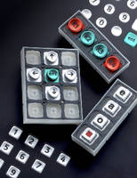 Keypads are offered in adaptable layouts.