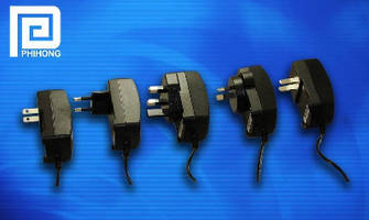 Wall Mount Adapters come in 5 international outlet sizes.