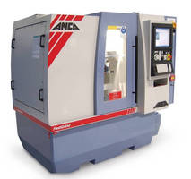 CNC Tool and Cutter Grinder resharpens tools at high speed.