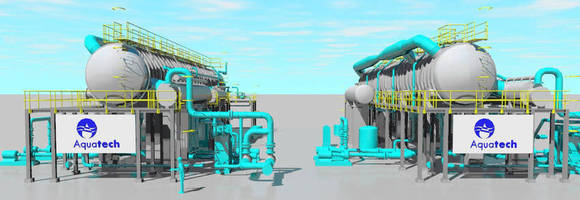 Aquatech Awarded a Major Thermal Desalination Project in Egypt, its Second Award in Egypt this Year