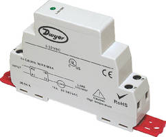 Solid State Relay offers DIN rail or panel mounting.