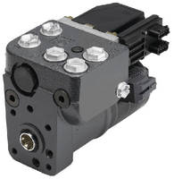 Electrohydraulic Steering Unit ensures complete control.
