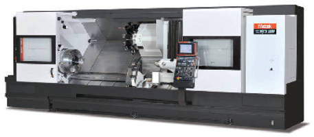 CNC Turning Center is designed for large part applications.
