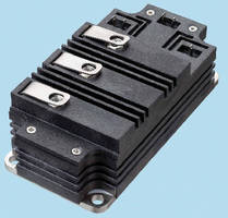 Dual High-Voltage IGBT is rated at 4,500 V/150 A.
