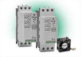 Soft Motor Starters come in 5-40 A sizes.