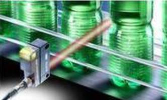 Retro-Reflective Sensor detects transparent objects.