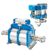 Air-Driven Pumps operate at pressures up to 60,000 psi.