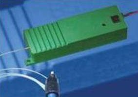 Fiber-Coupled Laser Modules are offered in 488 and 532 nm versions.