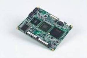 Fanless ETX Computer Module drives multiple applications.