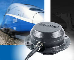 Magnetic Encoders suit harsh-duty rail vehicle applications.