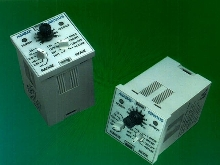 Time Delay Relay mounts in panel or socket.